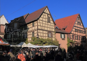 Alsazia  Riquewhir   -  Colmar