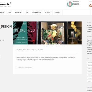 """Trasparenze Liberty"" al Fuorisalone Milano Design Week 2018"