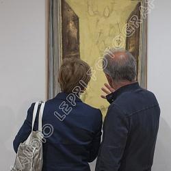 Esposizioni d'arte. Inaugurazioni e allestimenti