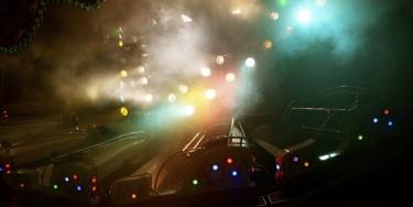 Luna park by night
