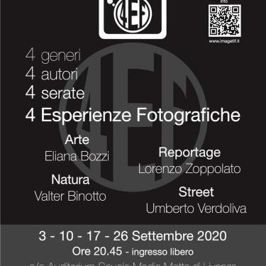 4EF 4 esperienze fotografiche incontri con l'autore
