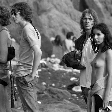 Isola di Wight, agosto 1970.