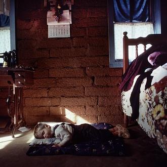 Paraguay 1990. Mennoniti di Nueva Durango.