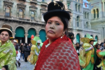 Carnevale Boliviano a Milano. 2013